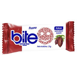 Bite Ceral bar kakao 25g