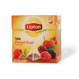 Lipton Black tea for.fruits 20x1,7g pir.