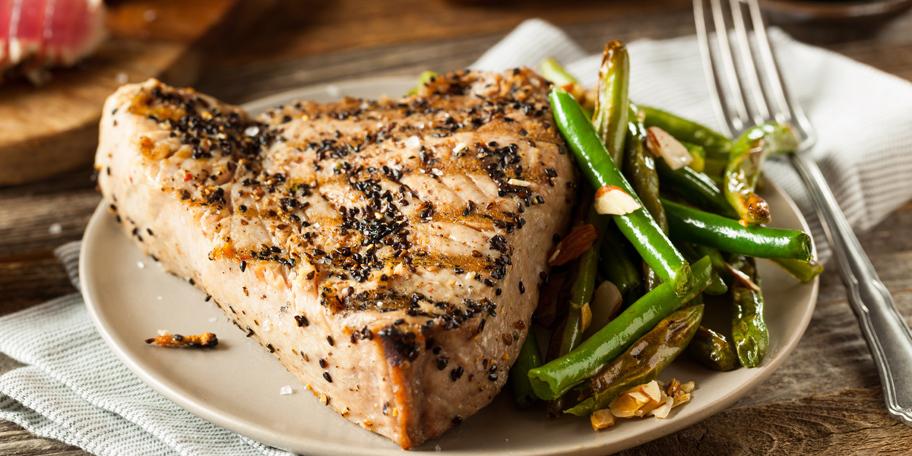 Grilovana tuna sa soja-sosom
