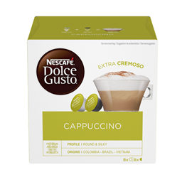 Nescafe Dolce Gusto Cappucino 186,4g