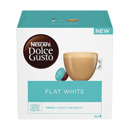 Nescafe Dolce Gusto flat white16x11,7g