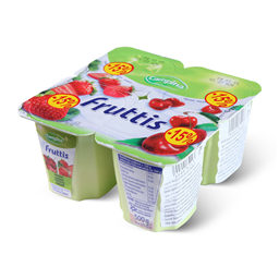 Voc.jogurt jagoda,tresnja Fruttis 125g