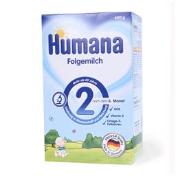 Mleko u prahu Humana 2-6m 600g