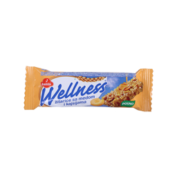 Cereal bar kajsija Wellness 23g