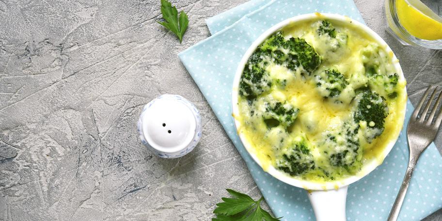 Gratinirani brokoli i karfiol