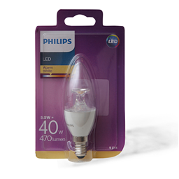 Sijalica LED bistra Philips E14 40W