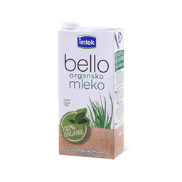 Mleko steriliz.Bello organic 2.8%mm 1L
