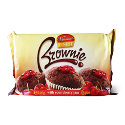 Brownie cherry Vincinni 240g