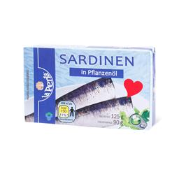 Sardina u ulju La Perla 125g