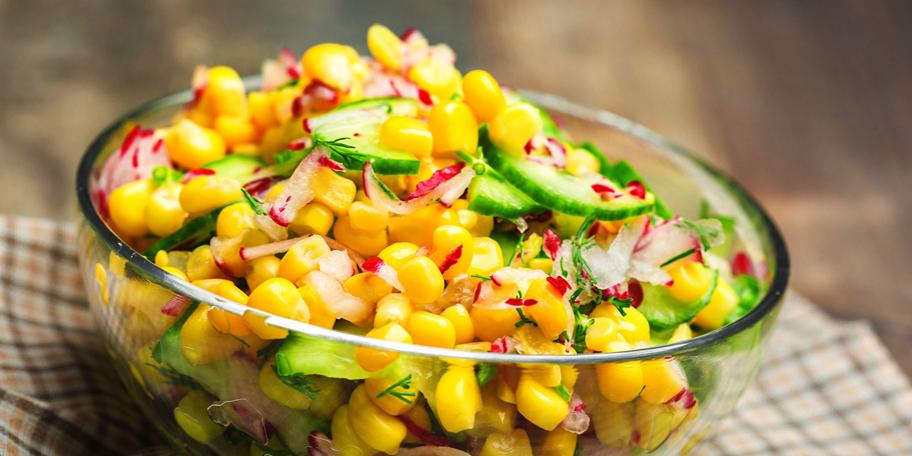 Žuta salata sa šećercom