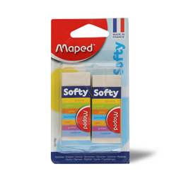 Gumica Softy Maped blister 2/1