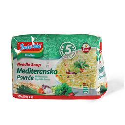 Indomie nudle ukus Medit.povrca 350g 5/1