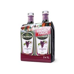 Ulje/kost.grozdja Olitalia fam.pak 2X1l