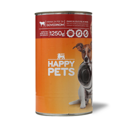 Hrana za pse/govedina Happy pets 1.25kg