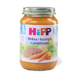 Kasica Hipp jagnjet.sargar.krompir 190g