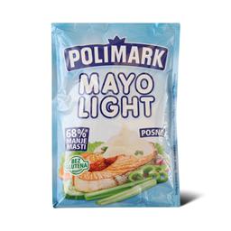 Majonez light kesa  Polimark 180ml