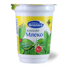 Kiselo mleko 3.2%mm Granice casa 400g