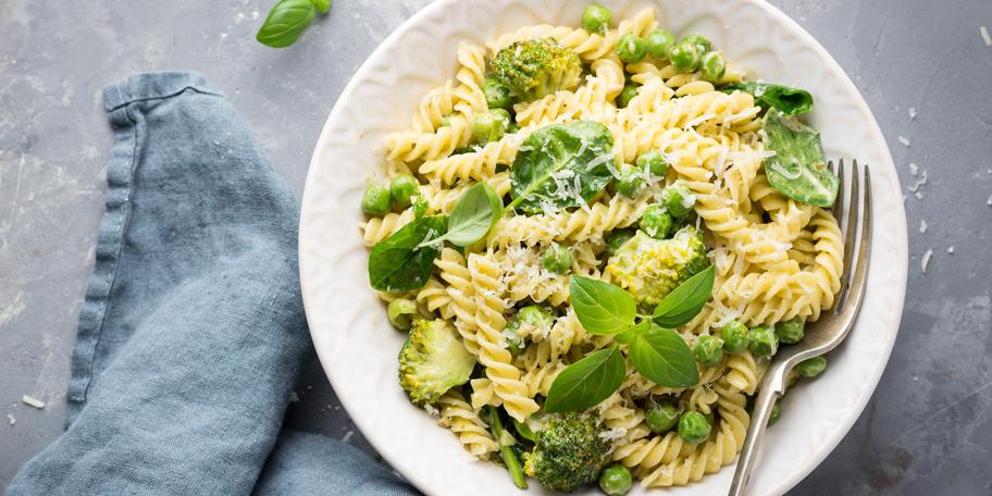 Pasta sa zelenim povrćem