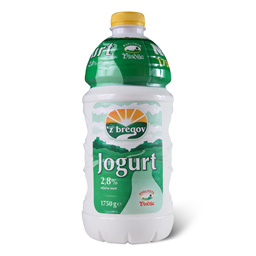 Jogurt tecni 2,8%mm Z Bregov 1,75l pet