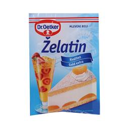 Zelatin mleveni beli Dr.Oetker 10g