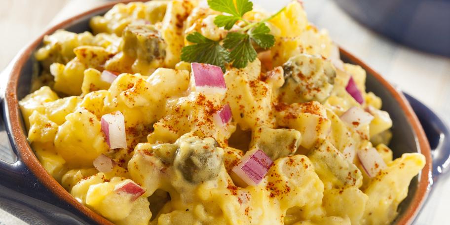 Krompir salata sa graškom i majonezom