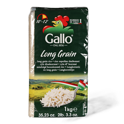 Riso Gallo pirinac Long Grain 1kg