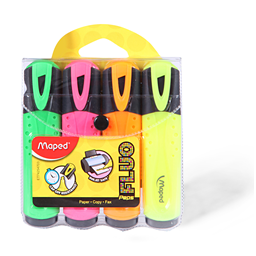 Text marker Maped Fluo peps set 1/4