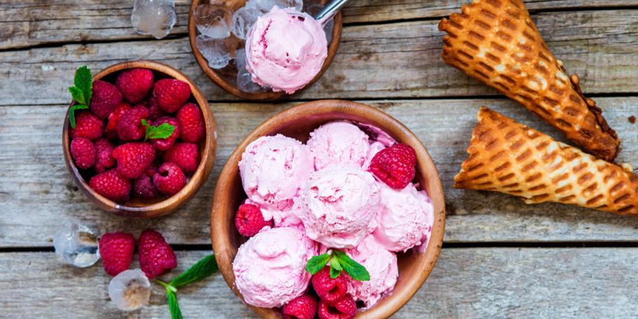 Sladoled od malina