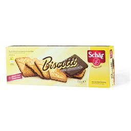 Keks preliven cokoladom Biscotti 150g