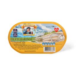 Haringa Il Capitano filet/ulj.hansa 170g