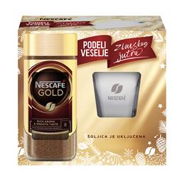 Kafa inst.Nescafe Gold 200g+poklon solja