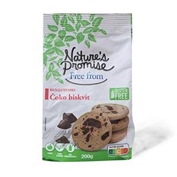 Bezglutenski choco biscuits 200g