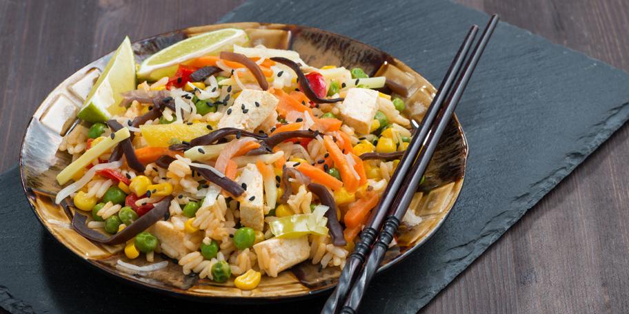 Pirinač sa tofu sirom