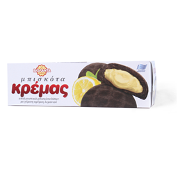 Keks Dark Cocoa-Lemon Cream 135g