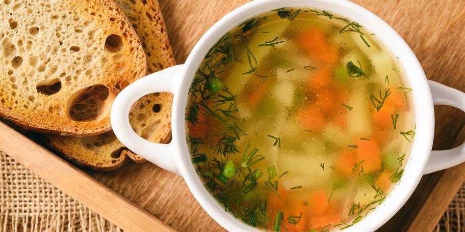 Prolećna supa sa mirođijom