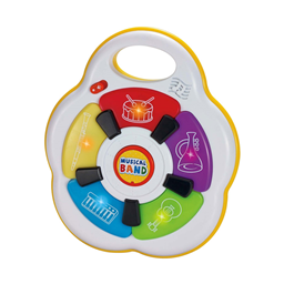 Infunbebe igracka za bebe muzicki bend