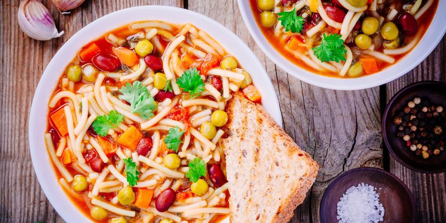 Minestrone supa sa povrćem