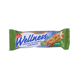 Cereal bar jabuka Wellness 23g