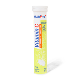 Multivita Vitamin C 250 20 sum.tabl.80g