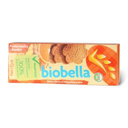Keks narandza i djumbir Biobella,105g
