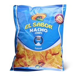 Tortilja Nacho cips El Sabor Salt 2