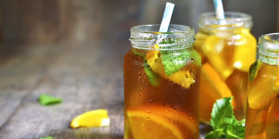 Ledeni čaj sa pomorandžom