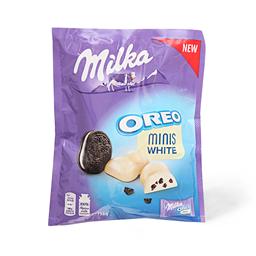 Oreo white minis Milka 153g
