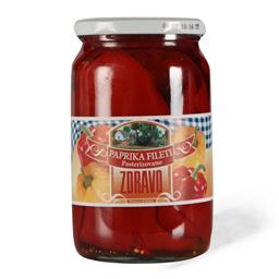 Paprika fileti Zdravo 720g