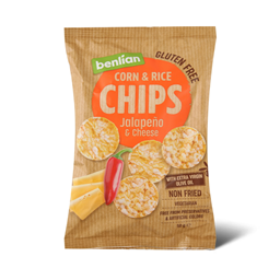 Cips Halapenjo & sir Benlian Foods 50g