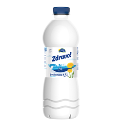 Mleko sveze 2.8%mm Zdravo pet 1.5l