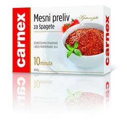 Mesni preliv za spagete Carnex 400g