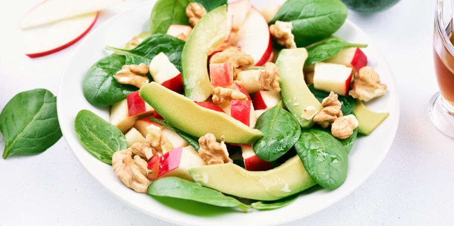Voćna salata sa avokadom i jabukama