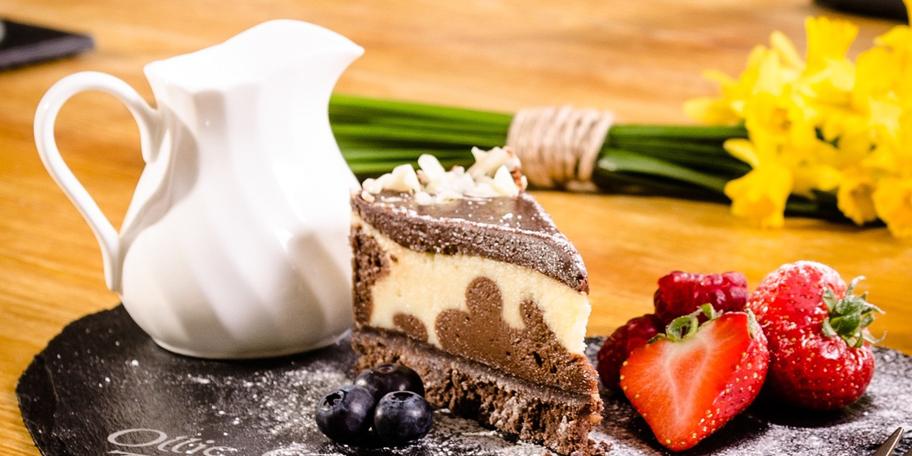 Belgijska torta sa tri čokolade
