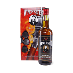 Whisky Winchester sa dve case 0,7l